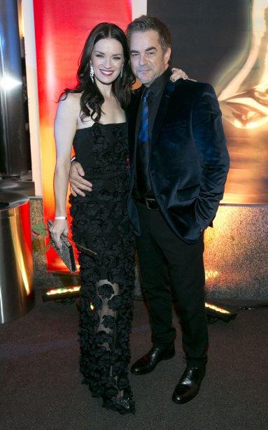 Andrée Watters et Sylvain Cossette. | 28 octobre 2012