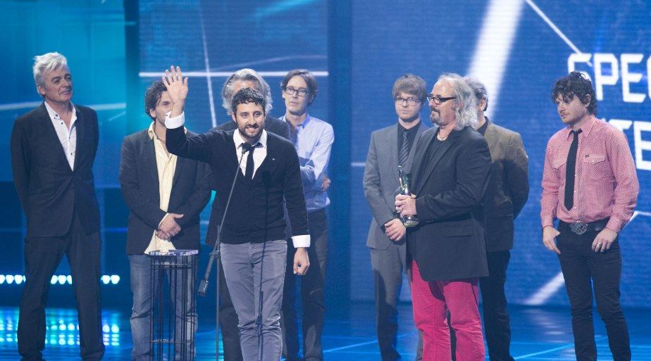 Gagnants de Spectacle de l'année - Interprète : Douze hommes rapaillés | 28 octobre 2012