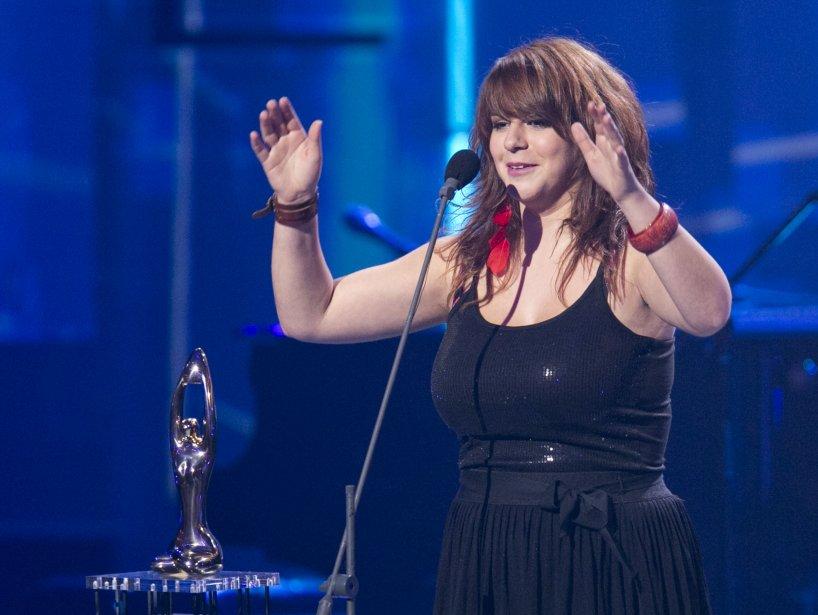 Lisa LeBlanc gagne le prix Révélation de l'année. | 28 octobre 2012