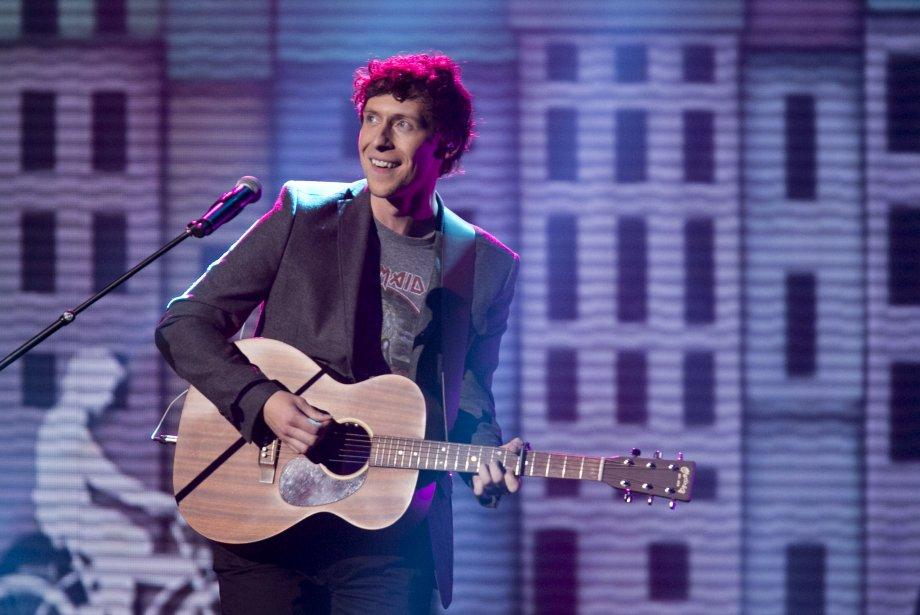 La prestation musicale des 5 artistes en nomination pour le prix révélation de l'année; Patrice Michaud. | 28 octobre 2012