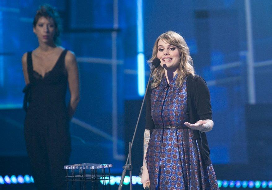 Coeur de pirate remporte l'Album de l'année - Pop pour Blonde. | 28 octobre 2012