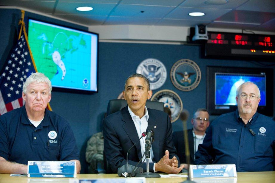 Le président américain demeure aujourd'hui à la Maison-Blanche... (PHOTO NICHOLAS KAMM, AFP)