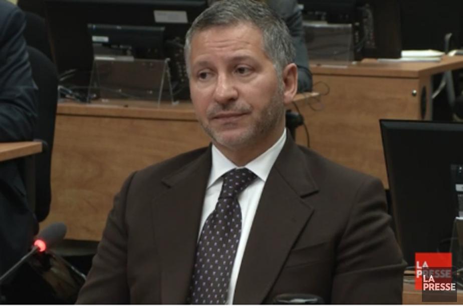 Elio Pagliarulo lors de son témoignage à la... (Images La Presse)