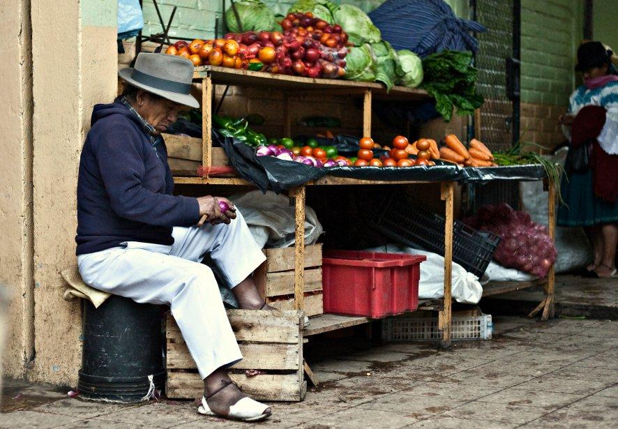 Le marché d'Otavalo. | 29 octobre 2012
