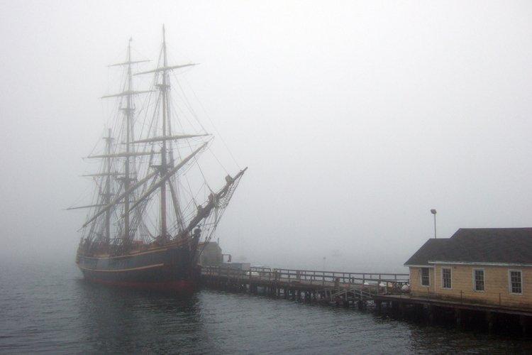 Long de 55 mètres, leHMS Bounty avait été... (Phpto: PC)