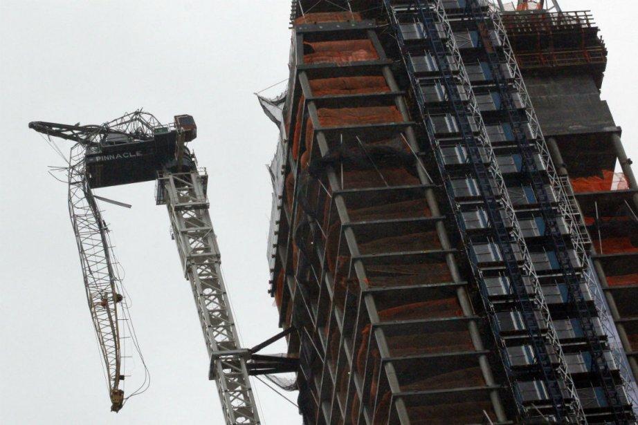 L'accident a eu lieu sur le chantier d'un... (Photo Brendan McDermid, Reuters)