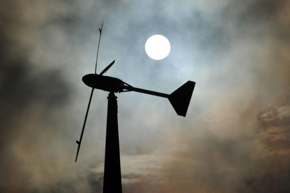 Les manufacturiers de pales ou de tours d'éoliennes,... (Photo: François Gervais)