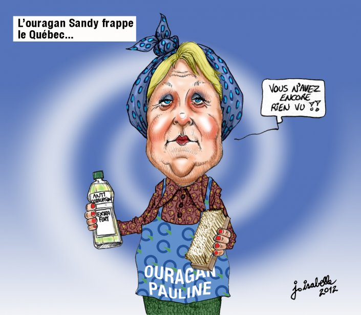 Caricature du 30 octobre | 30 octobre 2012