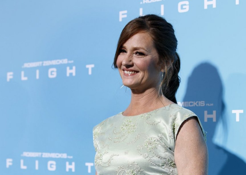 Cast member Melissa Leo poses at the premiere of