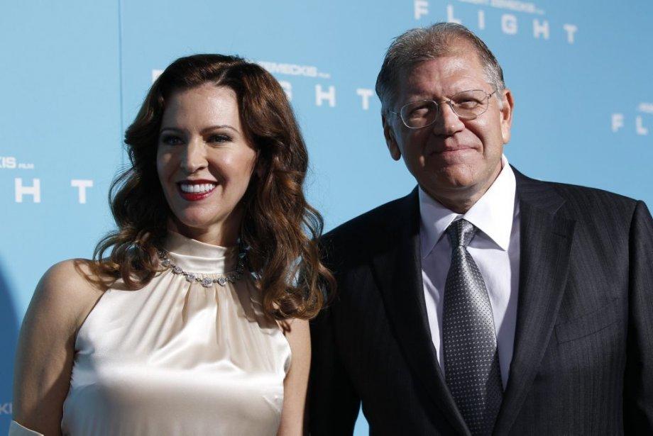 Le réalisateur Robert Zemeckis et sa femme Leslie | 30 octobre 2012
