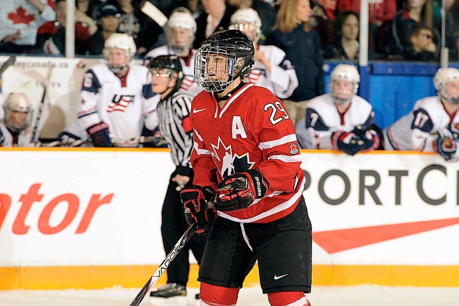 Marie-Philip Poulin... (Photo fournie par Hockey Canada)