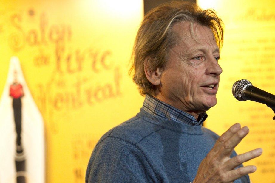 Le président d'honneur du Salon du livre de... (Photo: Hugo-Sébastien Aubert, La Presse)