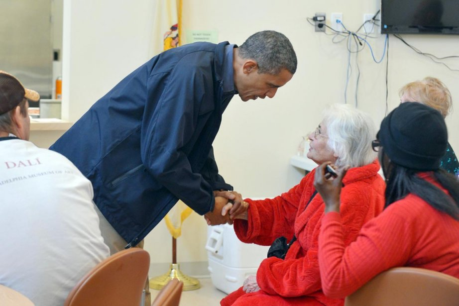 Obama a très rapidement réagi pour aider la... (PHOTO JEWEL SAMAD, AFP)