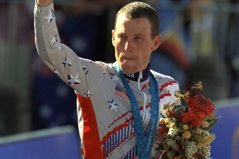Lance Armstrong a remporté la médaille de bronze... (Photo archives AP)