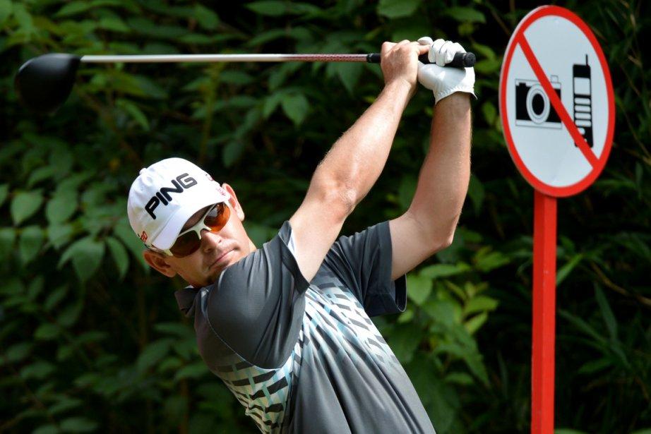 Louis Oosthuizen... (Photo: AFP)