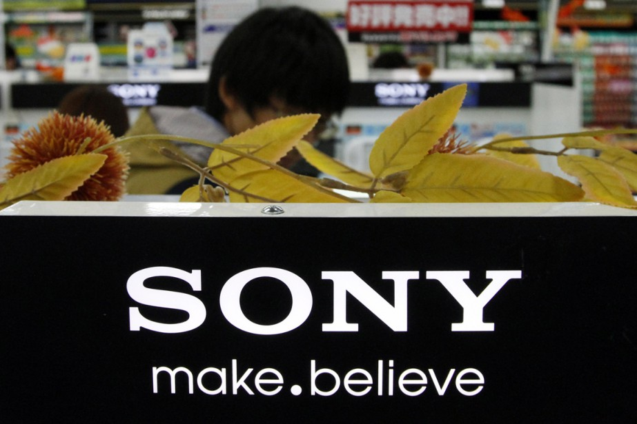 Le géant japonais de l'électronique Sony est... (PHOTO TORU HANAI, REUTERS)