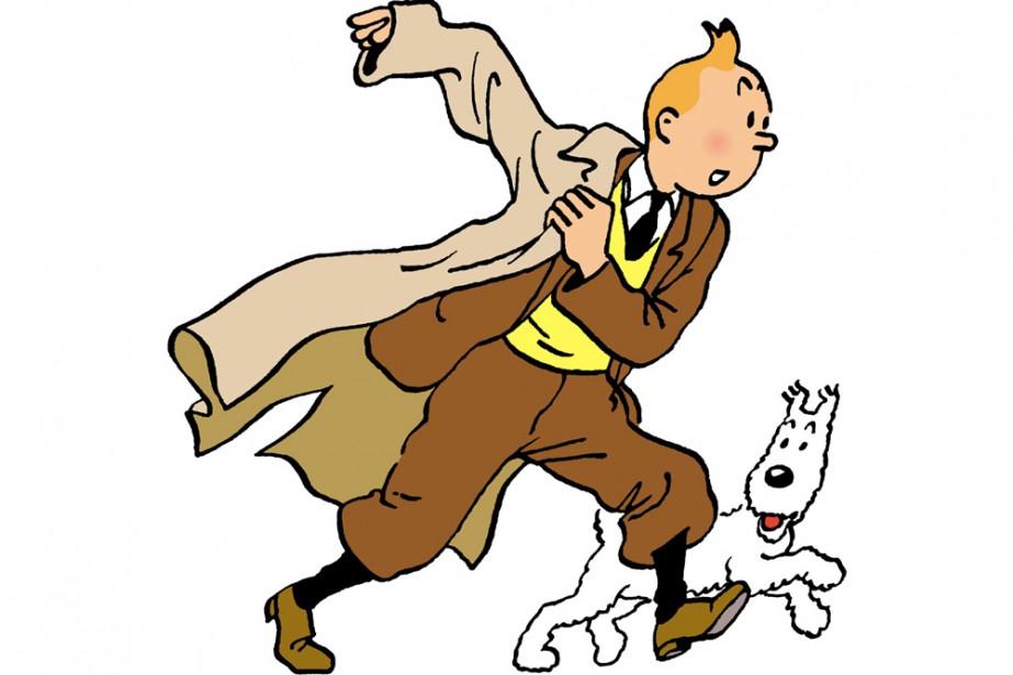 Tintin et Milou... (Photo: AFP)