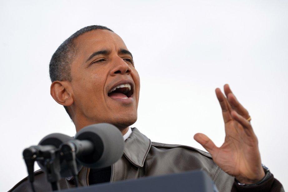 Barack Obama... (PHOTO JEWEL HAMAD, AFP)