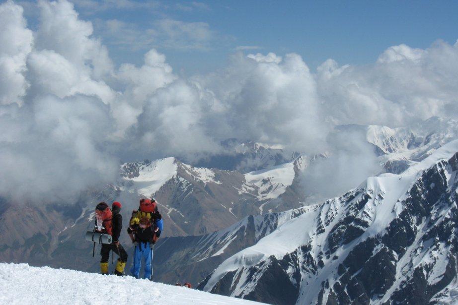 Du groupe, seulement deux grimpeurs atteindront le sommet... (Photo: Marie Tison, La Presse)