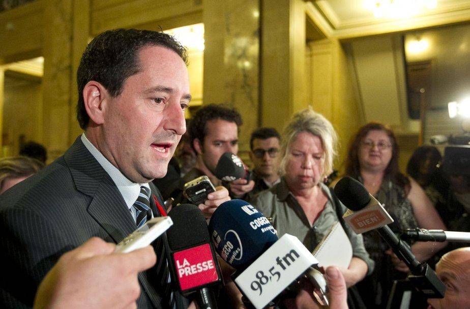 Le président du comité exécutif de la Ville... (Photo: Hugo-Sébastien Aubert, La Presse)