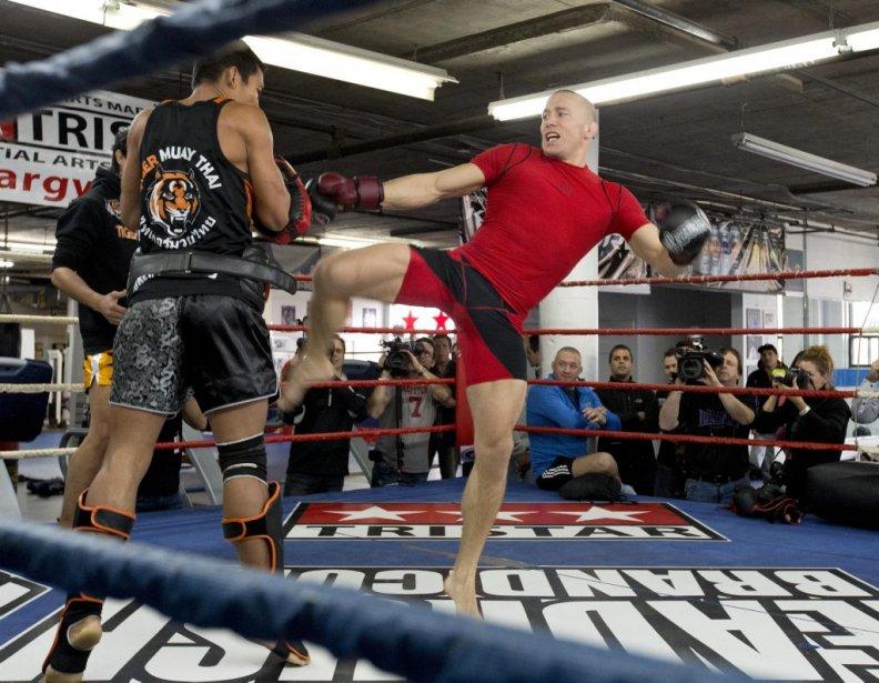 Lors d'une séance d'entraînement public jeudi au gymnase Tristar, deux... | 2012-11-01 00:00:00.000