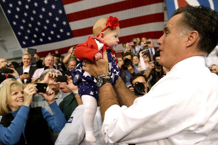 Mitt Romney en Virginie. Son agenda pour les... (Photo AP)