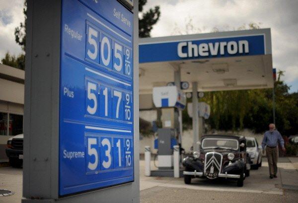 Le numéro deux américain de l'énergie Chevron (