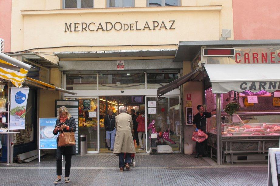 Le Mercado de la Paz n'a rien de... (Photo: Marie-Claude Lortie, La Presse)