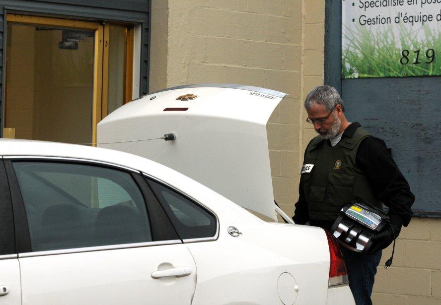 La plupart des perquisitions en Mauricie ont eu lieu à Trois-Rivières. Les policiers ont frappé notamment sur les rues Saint-Paul, Brodeur, Dumoulin, Saint-Denis et Dublin. Des entrepôts étaient également visés sur la rue de Grandmont. | 2 novembre 2012