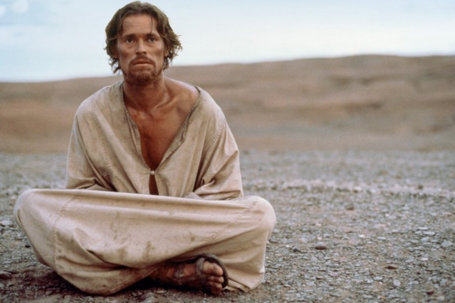 Willem Dafoe dans The Last Tentation of Christ....