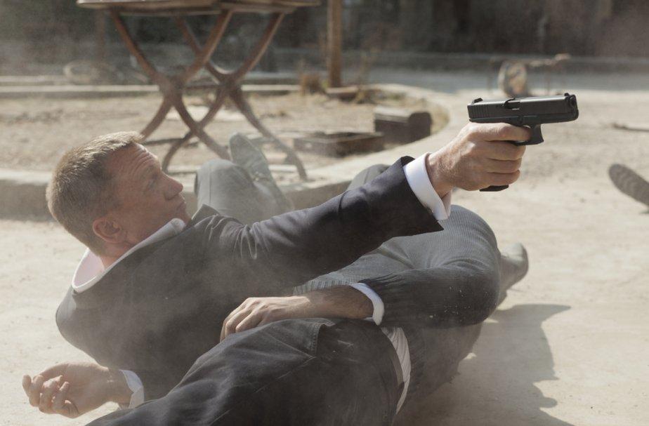 Daniel Craig dans son personnage de James Bond,... (Photo fournie par la production.)