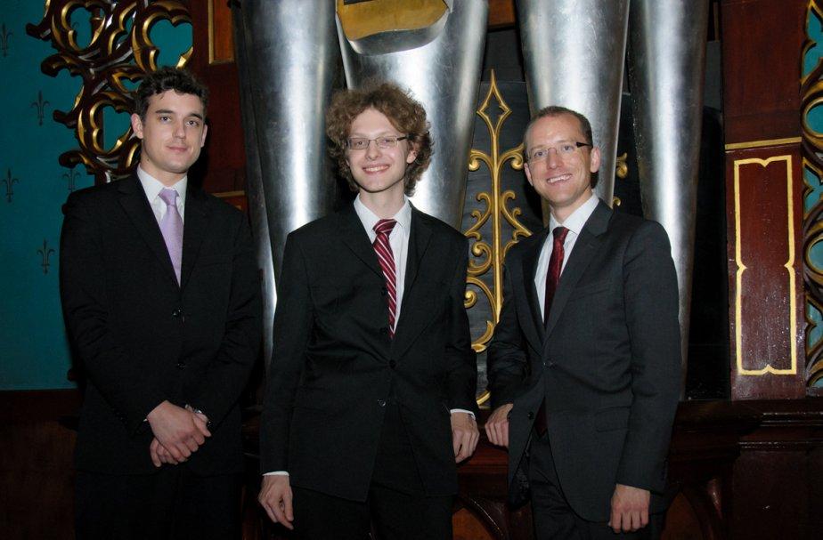 De gauche à droite: David Baskeyfield, Michael Schöch... (Photo: Bonnie Nichol, collaboration spéciale)