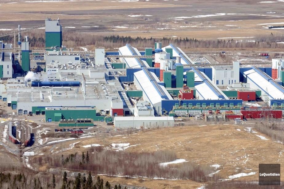 Démarrée en 2000, l'usine d'Alma compte 432 cuves.... (Photo archives Le Quotidien)