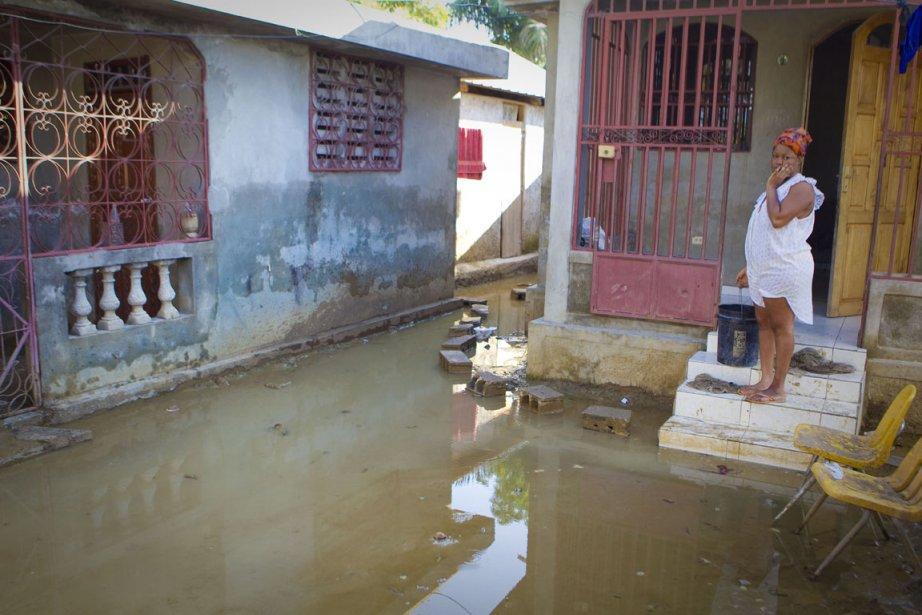 Au passage de l'ouragan Sandy,  la crue... (Photo : André Pichette, La Presse)