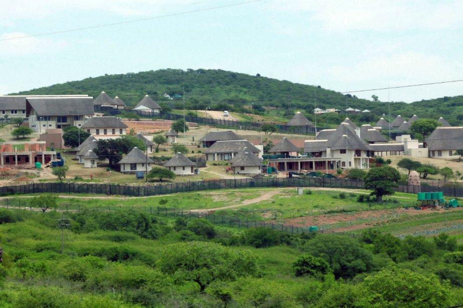La résidence privée du président sud-africain Jacob Zuma... (Photo Rajesh Jantilal, Agence France-Presse)