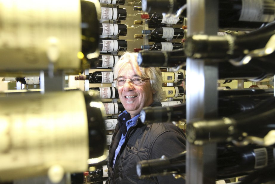 Daniel Richard, président du holding montréalaisVini-Quatro, vise une... (Photo Stéphane Champagne, collaboration spéciale)