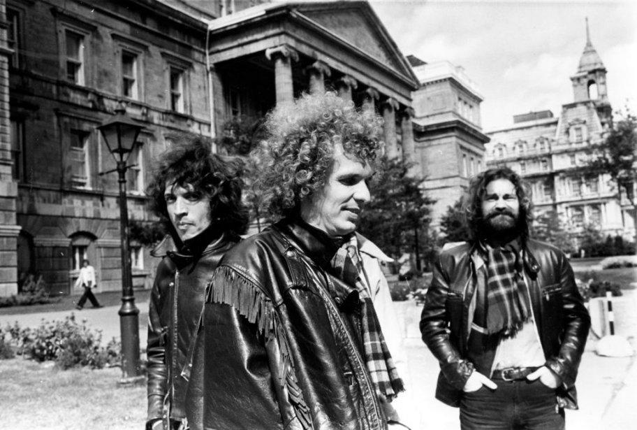 Paul et Paul, rock attitude et cheveux au vent, en 1978 (de gauche à droite: Meunier, Thériault et Grisé). | 5 novembre 2012