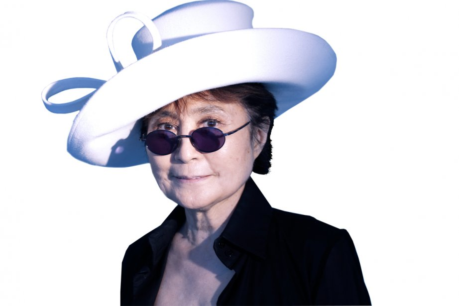 Yoko Ono... (Photo: Bernard Brault, archives La Presse)