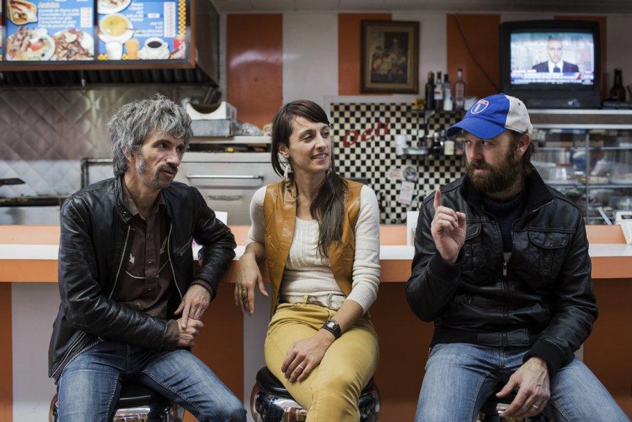 Éric Goulet, Sylvia Beaudry et Dany Placard, trois... (Photo: Édouard Plante-Fréchette, La Presse)