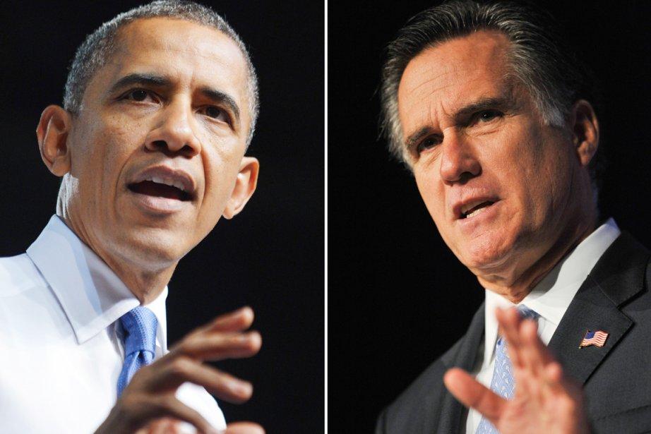 Les Américains choisissent aujourd'hui entre le démocrate Barack... (PHOTO ARCHIVES AFP)