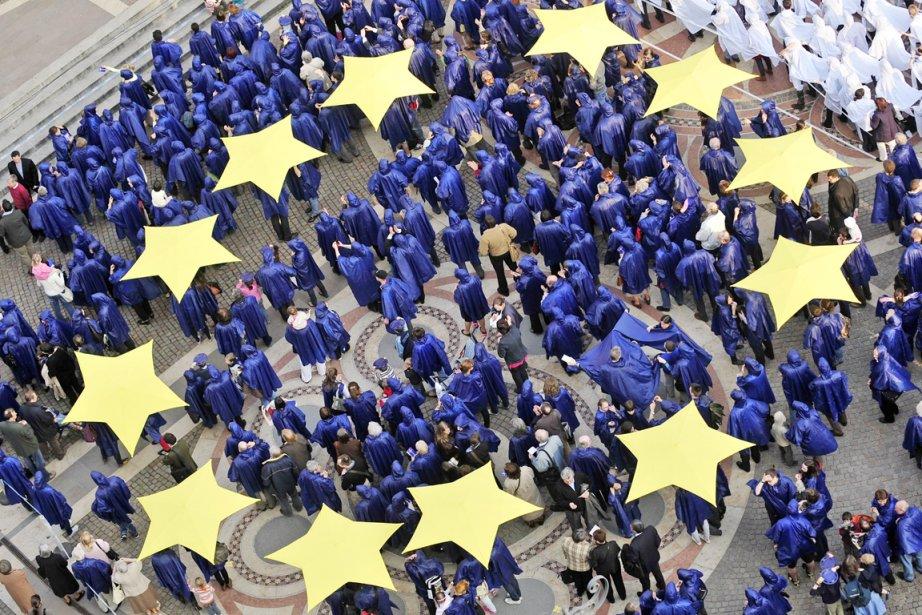 «Il est clair que l'Union européenne (...) n'est... (PHOTO ATTILA KISBENEDEK, AFP)