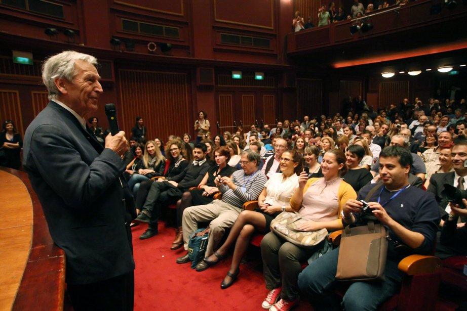 Le réalisateur Costa Gavras a présenté son dernier... (Photo: AFP)