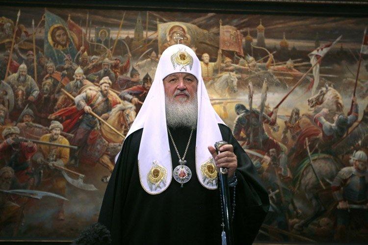 Le patriarche Kirill (photo)sera l'hôte du patriarche grec-orthodoxe... (Photo: AP)