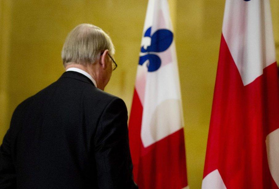 Avec ce départ, Gérald Tremblay laisse derrière lui de grands défis montréalais. | 5 novembre 2012