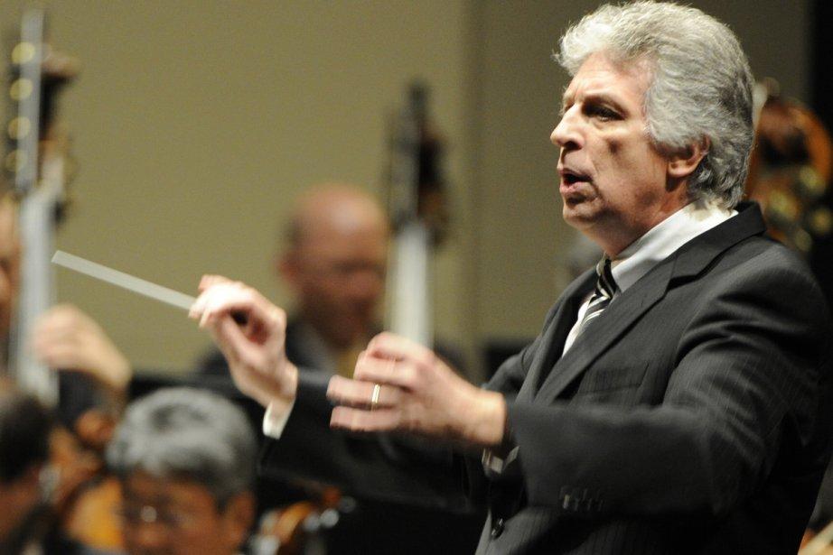 Le chef d'orchestre Stéphane Laforest... (Photo: Bernard Brault, archives La Presse)