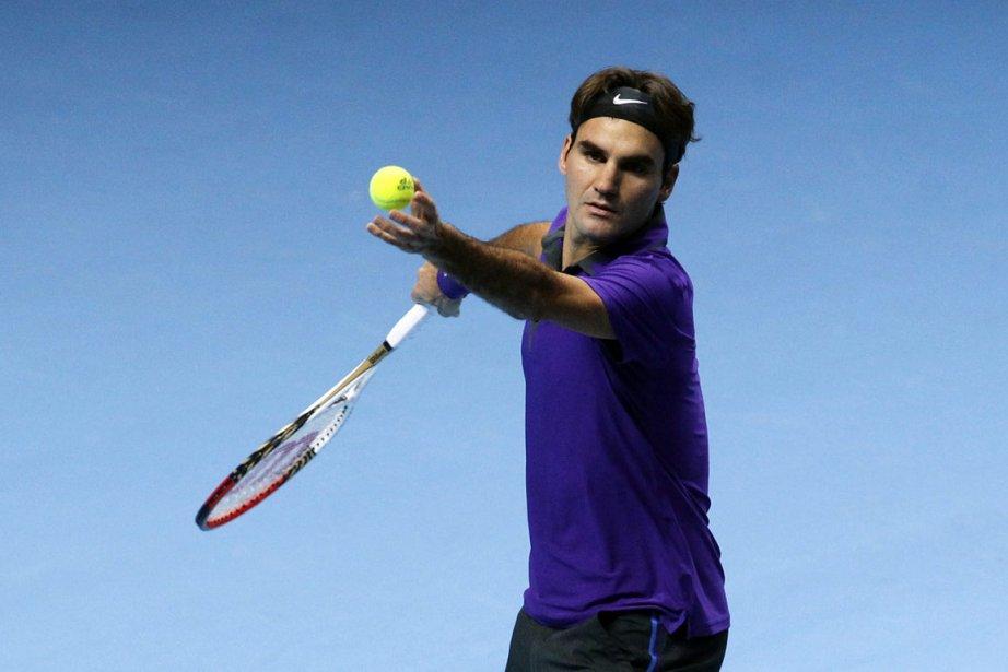 Roger Federer a ajouté un nouveau record à... (Photo : Sang Tan, AP)