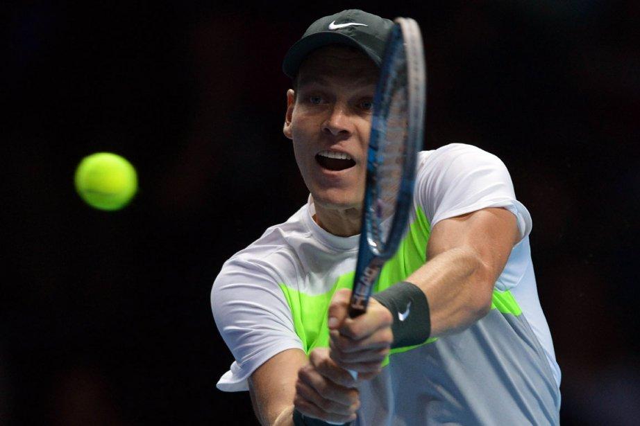 Tomas Berdych a remporté deux titres cette année... (Photo : AFP)