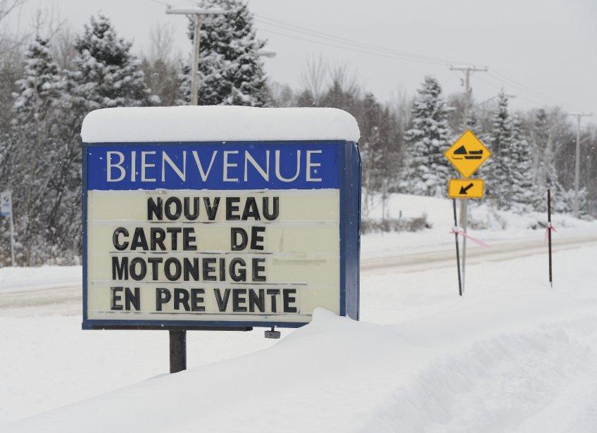 Tempête de neige à Lac Kénogami (Photo Jeannot Lévesque)