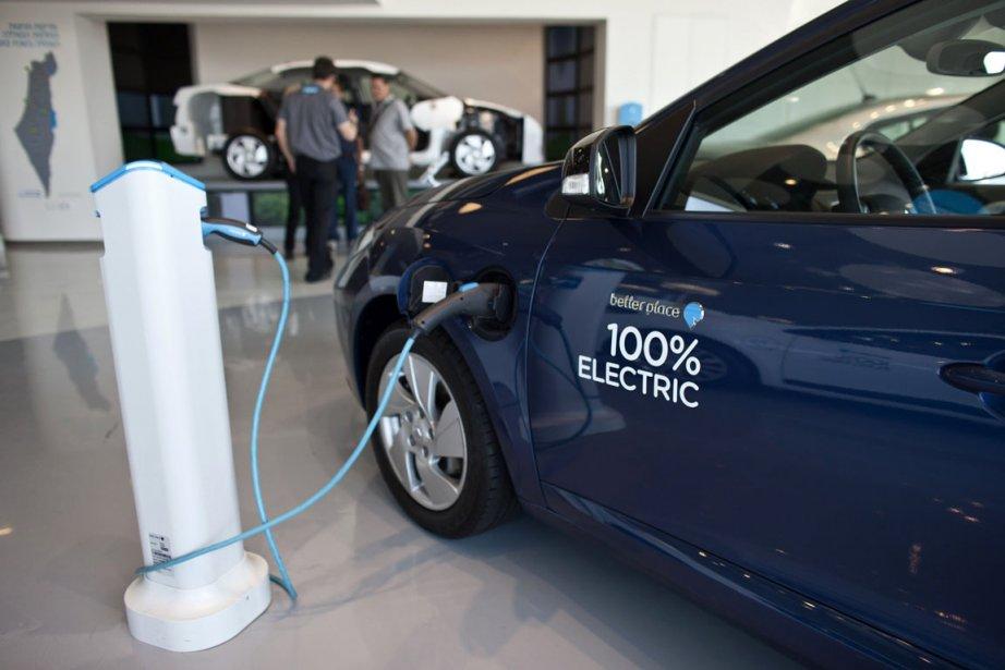 Les voitures électriques n'ont pas encore la cote... (Photo : Nir Elias, Reuters)
