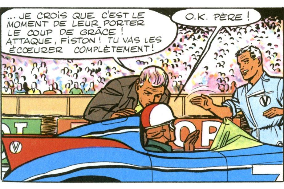 La série de bande dessinée Michel Vaillantva vivre une nouvelle  jeunesse dès...